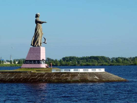 Скульптура «Мать-Волга» стала символом Рыбинска