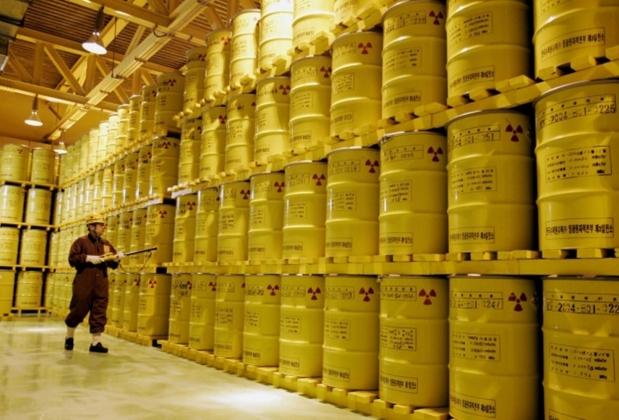 Хранилище жидких радиоактивных отходов