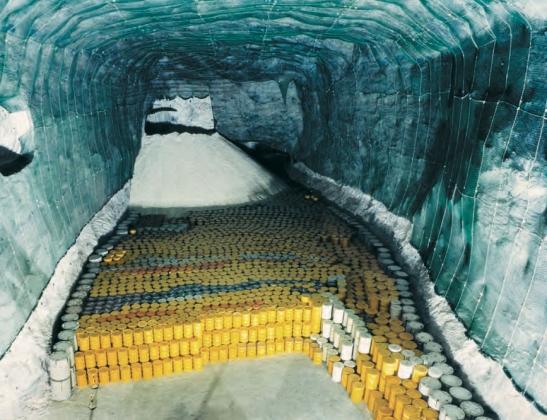 Глубинное захоронение РАО в соляной шахте (Морслебен, Германия)
