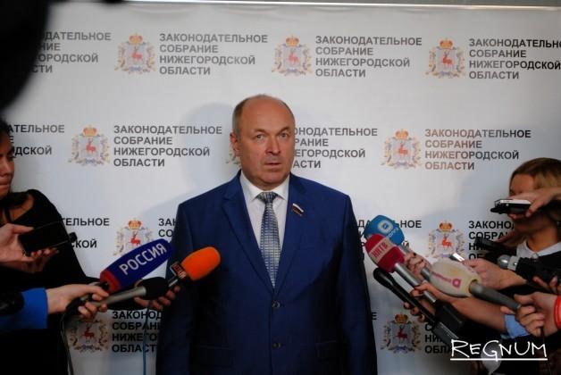 Нижегородские депутаты в едином порыве проголосовали за ставленника Шанцева