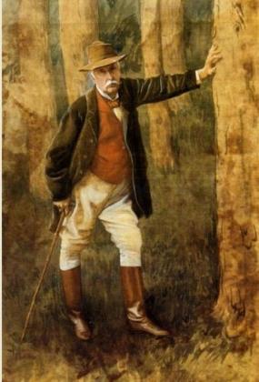 Джеймс Тиссо. Автопортрет. 1898