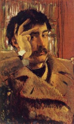 Джеймс Тиссо. Автопортрет. 1865