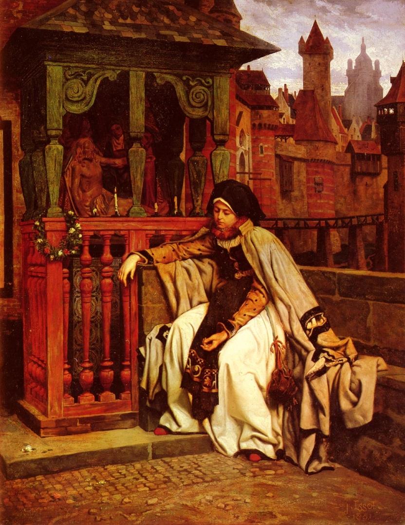 Джеймс Тиссо. Маргарита в Рампорте. 1861