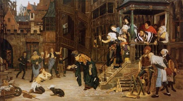 Джеймс Тиссо. Возвращение блудного сына. 1862
