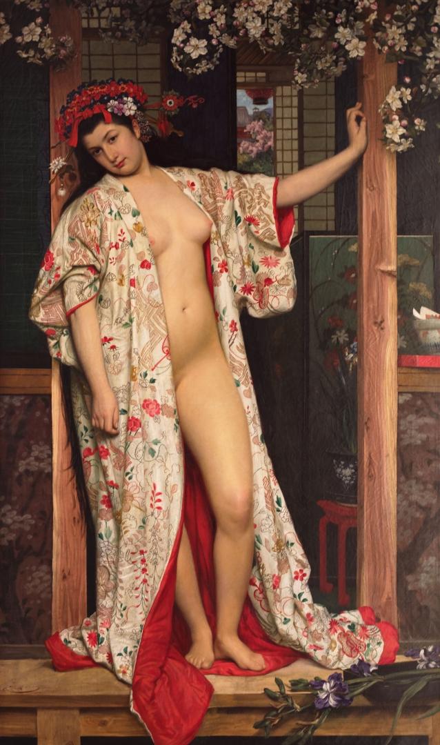 Джеймс Тиссо. Японская баня. 1864
