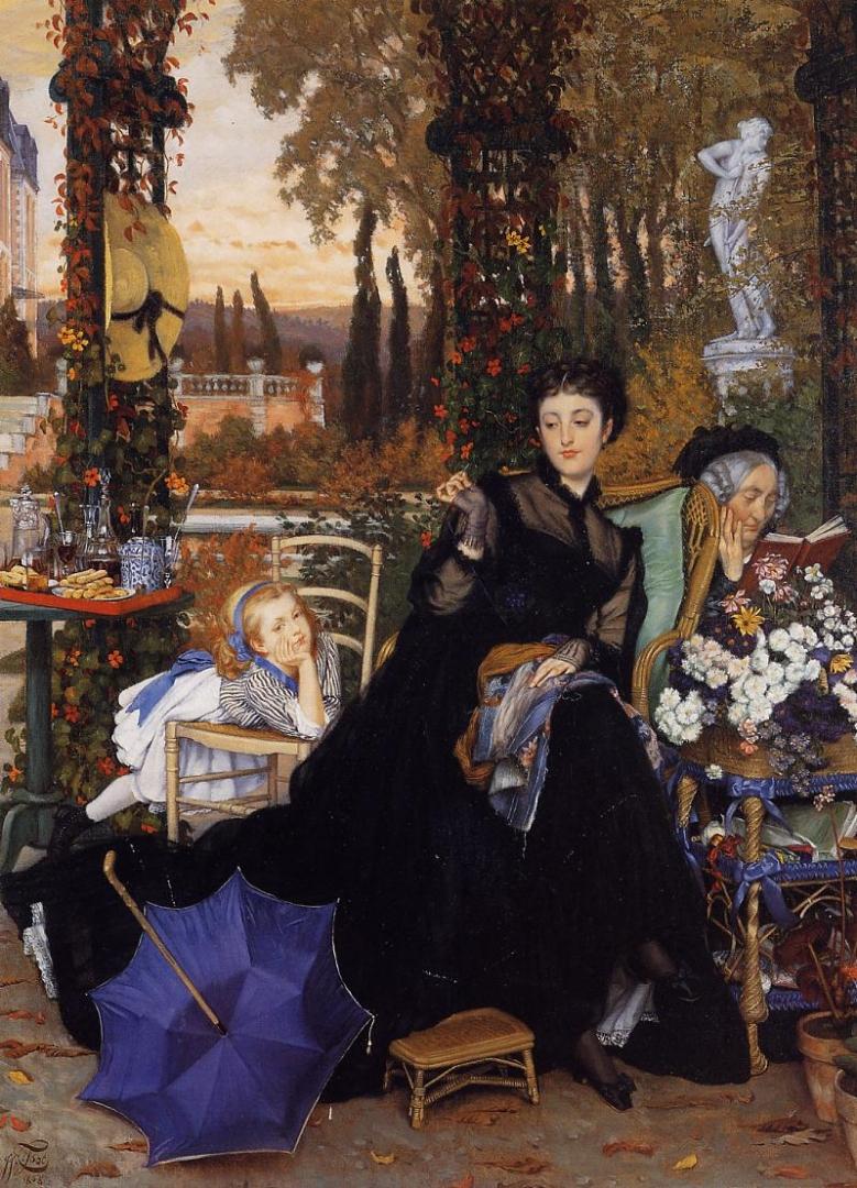 Джеймс Тиссо. Вдова. 1868