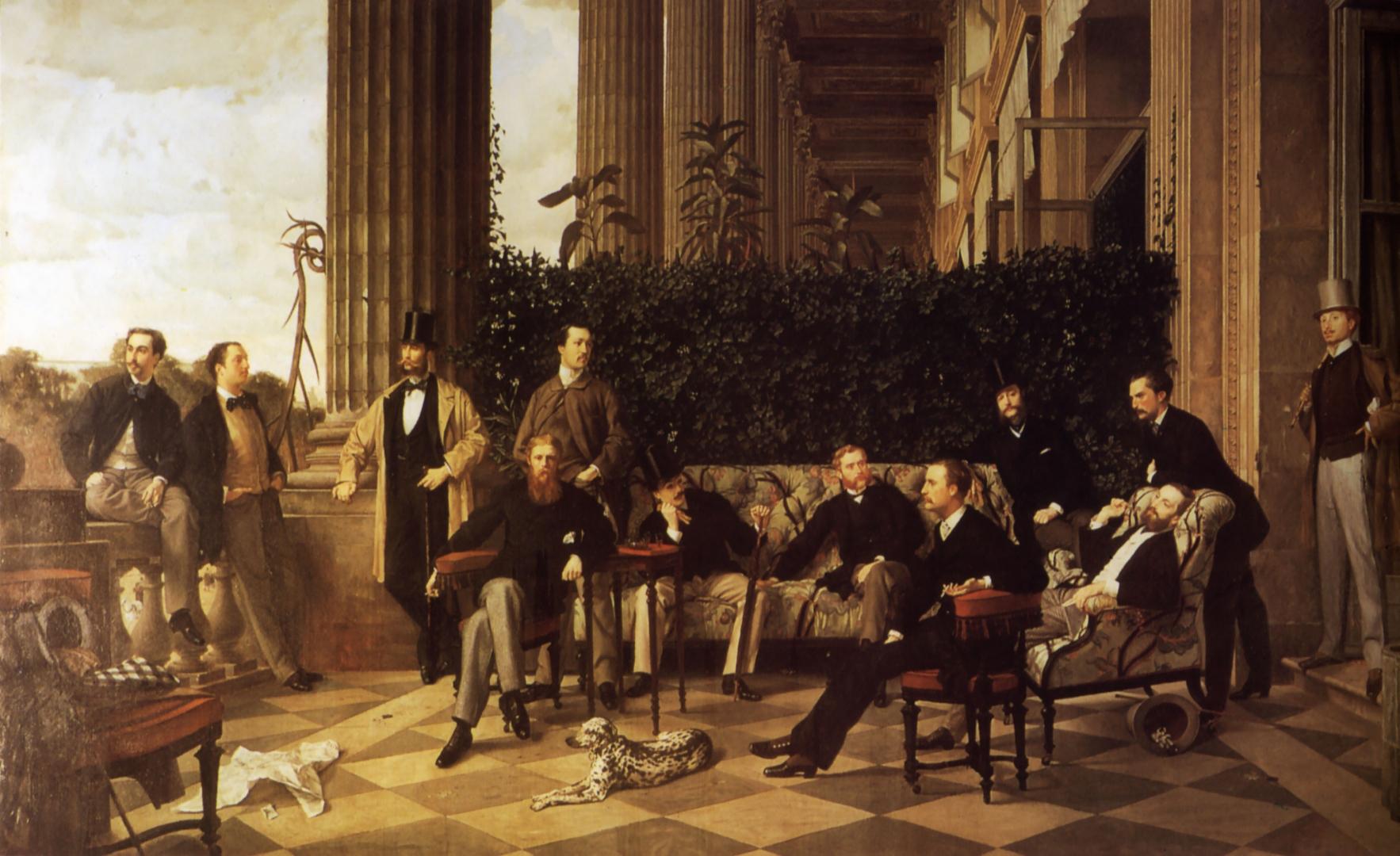 Джеймс Тиссо. Круг общения. 1868