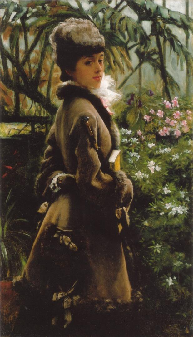 Джеймс Тиссо. В оранжерее. 1869