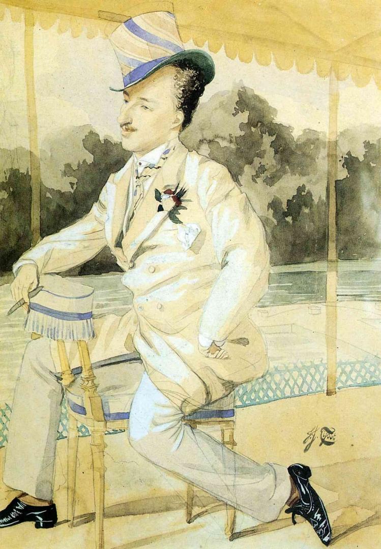 Джеймс Тиссо. Денди. 1871 — 1873