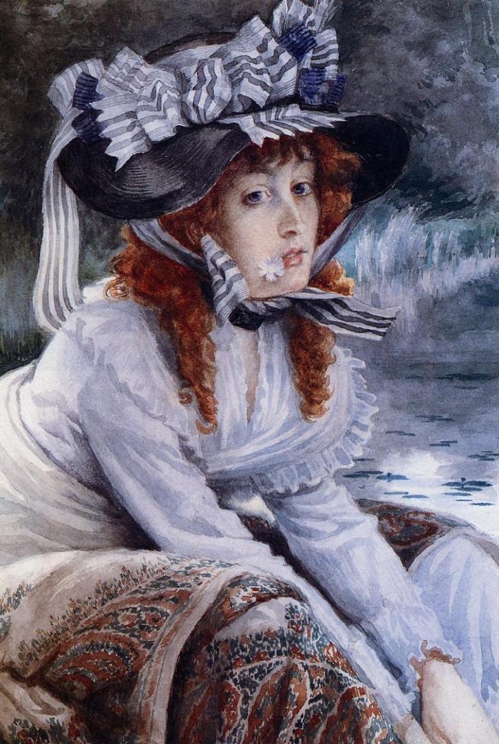 Джеймс Тиссо. На реке. 1871