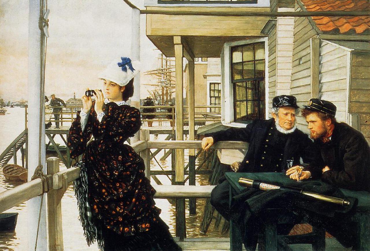 Джеймс Тиссо. Капитанская дочь. 1873