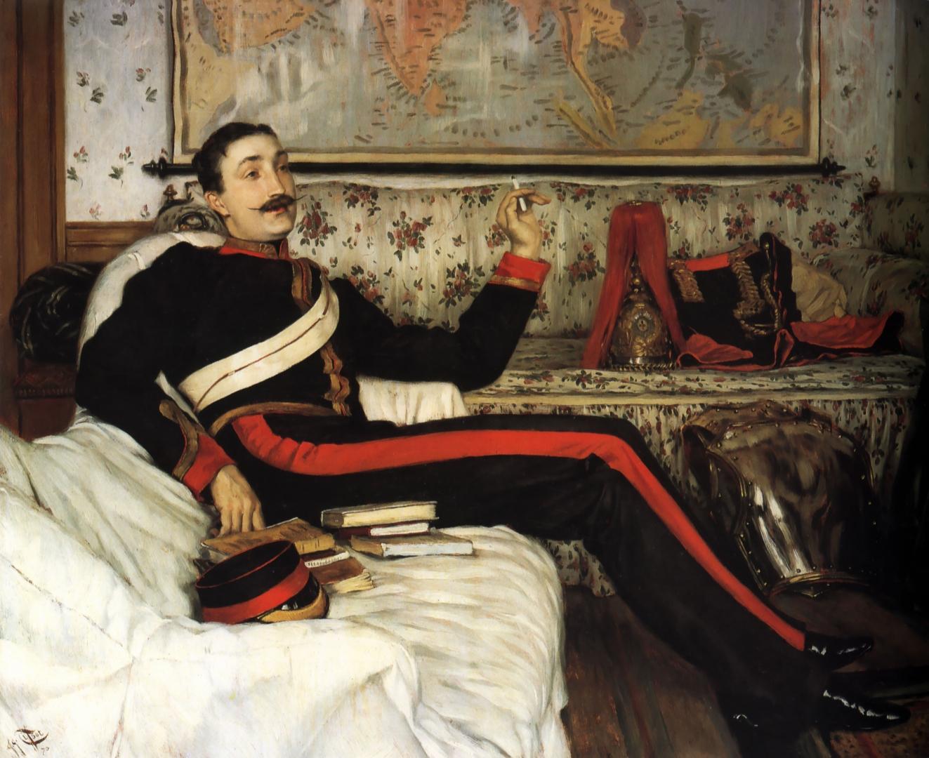 Джеймс Тиссо. Капитан Фредерик Густав Барнабю. 1870