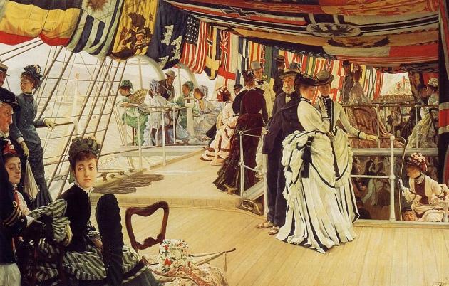 Джеймс Тиссо. Бал на корабле. 1874