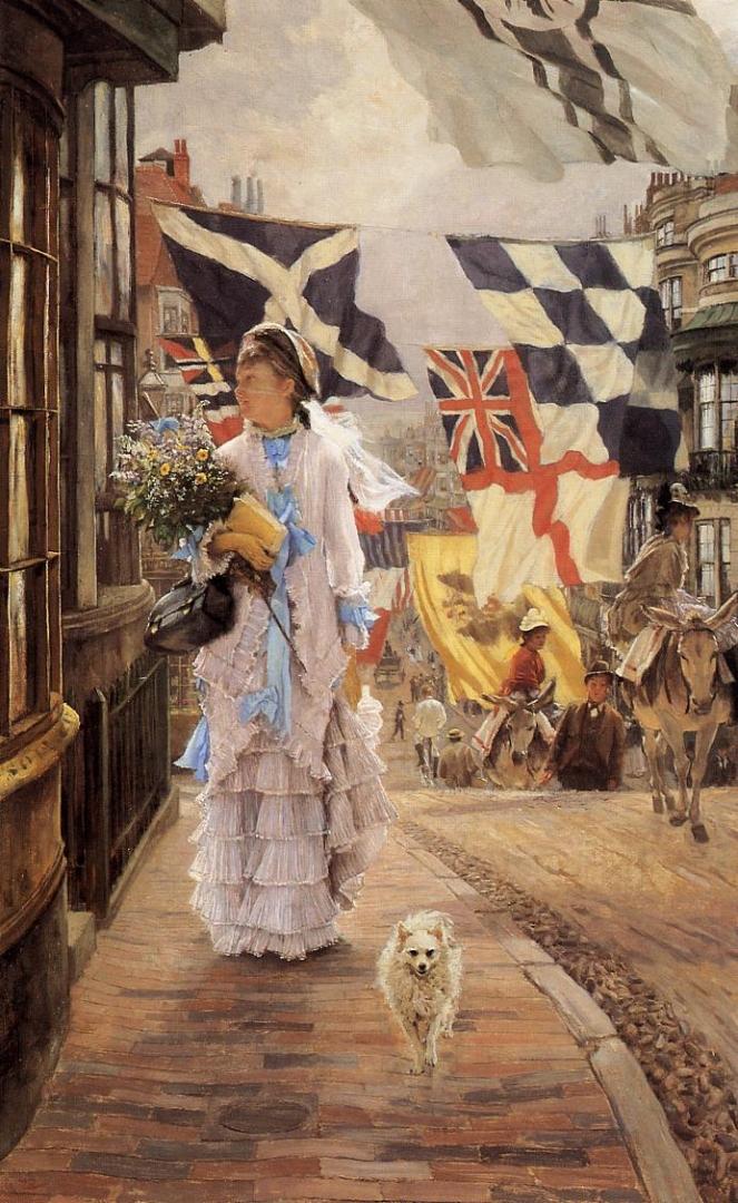 Джеймс Тиссо. Праздничный день в Брайтоне. 1875 — 1878