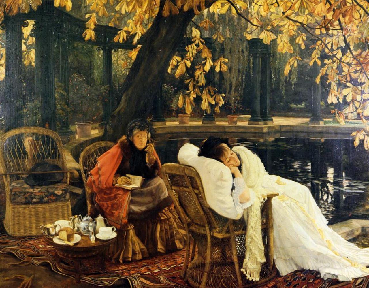 Джеймс Тиссо. Выздоровление. 1876