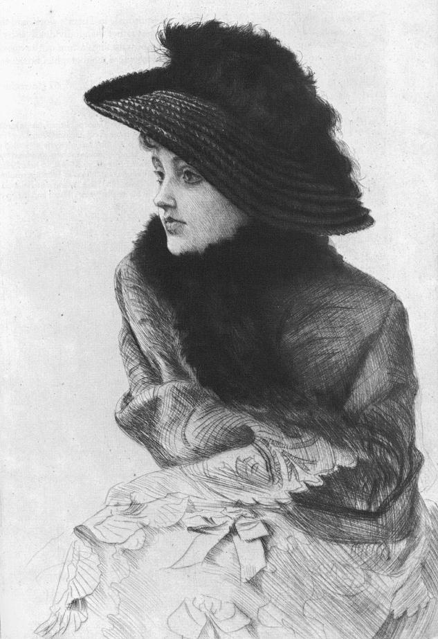 Джеймс Тиссо. Портрет Д. Н. 1876
