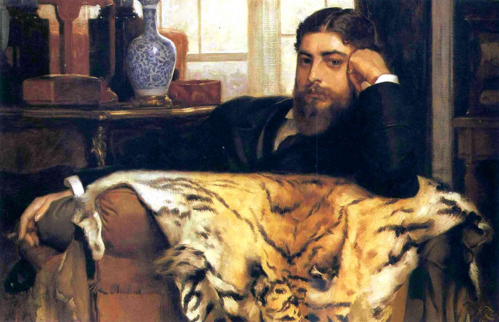 Джеймс Тиссо. Портрет Элджернона Моисея Марсдена. 1877