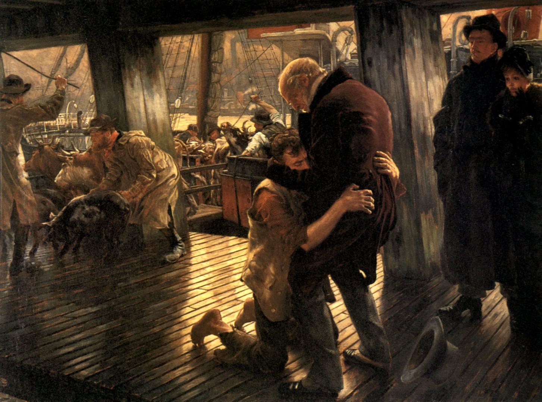 Джеймс Тиссо. Блудный сын в современности. Возвращение. 1882