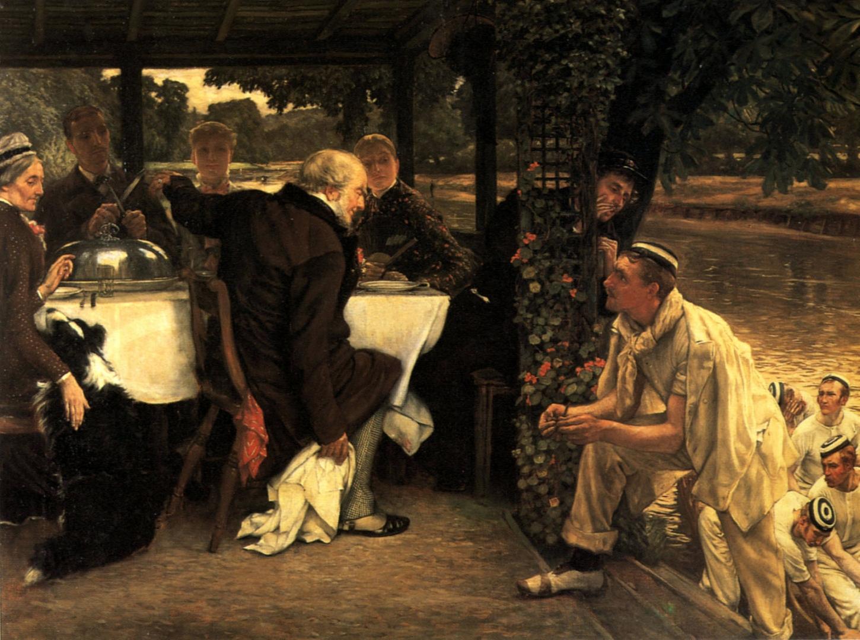 Джеймс Тиссо. Блудный сын. Долгожданное возвращение. Праздник. 1882