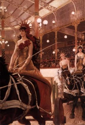 Джеймс Тиссо. Амазонки на конях. 1883 — 1885