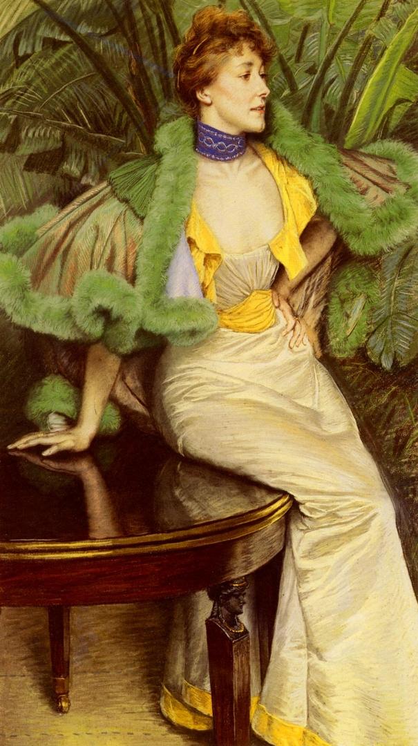 Джеймс Тиссо. Принцесса де Бройль. 1895