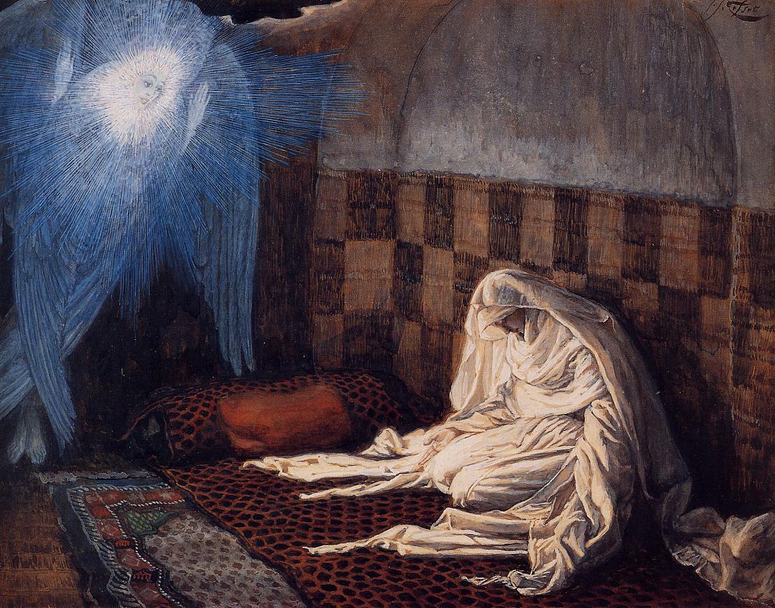 Джеймс Тиссо. Благовещение. 1886 — 1896