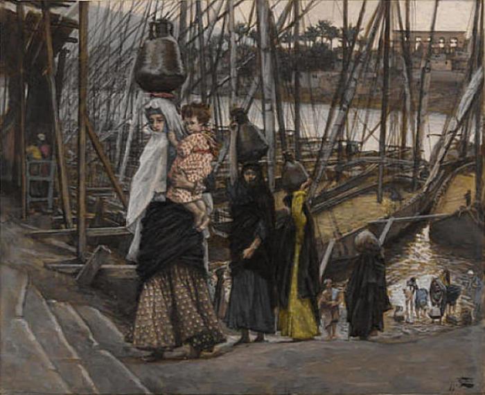 Джеймс Тиссо. На пути в Египет. 1886 — 1894