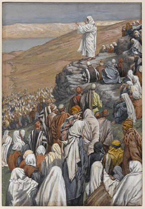 Джеймс Тиссо. Проповедь о благодати. 1886 — 1896