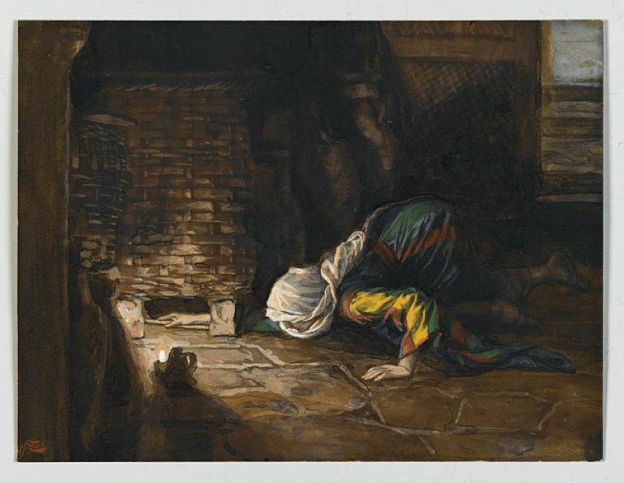 Джеймс Тиссо. Потерянная драхма. 1886 — 1894