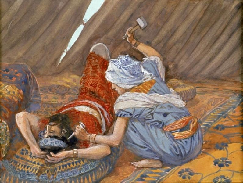 Джеймс Тиссо. Jael Smote Sisera, and Slew Him, 1896 — 1902