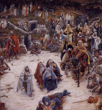 Джеймс Тиссо. Что видел наш Господь с креста. 1886 — 1894