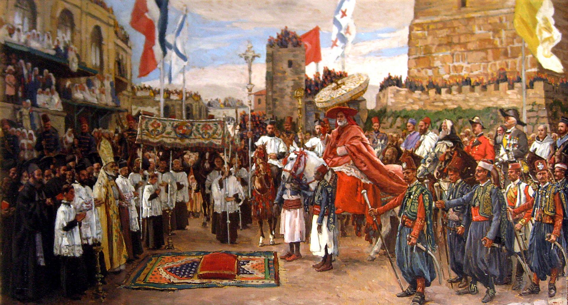 Джеймс Тиссо. Папа Иерусалимский. 1890
