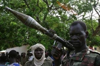 В Центрально-Африканской Республике
