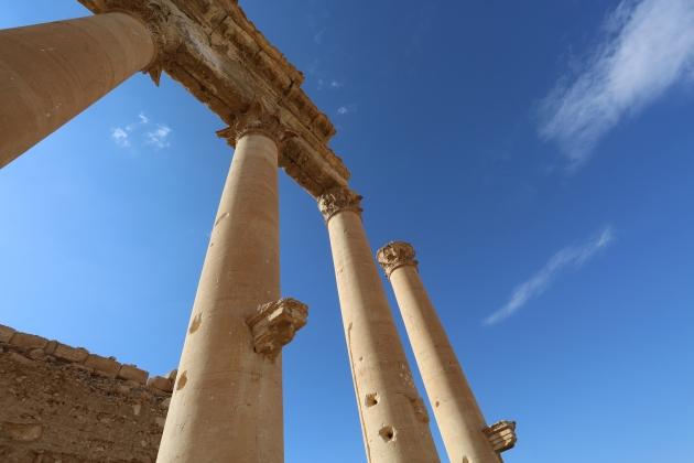 Один из храмов Пальмиры