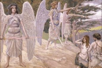 Джеймс Тиссо. Изгнание Адама и Евы из рая. 1896—1902