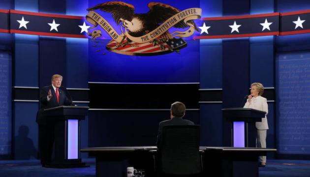 CNBC: Главной темой дебатов Трампа и Клинтон стал... Путин!