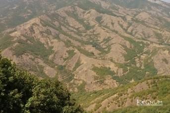 Нагорный Карабах. Вид из Шуши в сторону Степанакерта. Модест Колеров © ИА REGNUM