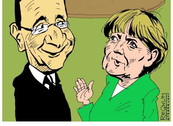 У Меркель и Олланда нет способов давить на Россию — Le Monde