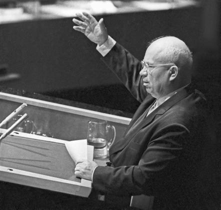 Выступление 1-го секретаря ЦК КПСС Никиты Хрущева в ООН, 1960 год