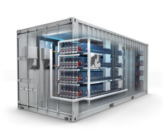 Рис. 4-4. Эволюция установок НЭЯР Е-Сат Андреа Росси: модуль 250 кВт тепловой мощности 1 МВт ТЭЦ E-Cat, который монтируется в стандартном контейнере