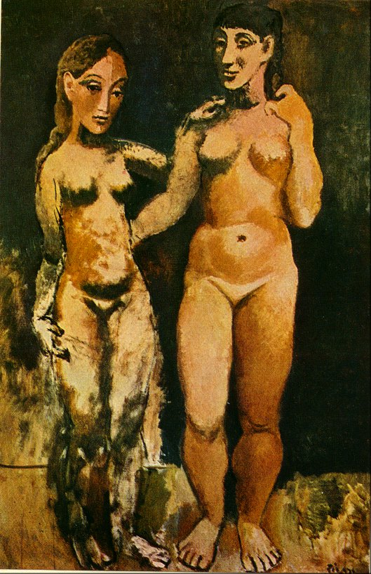 Mallu aunty picasso two nudes