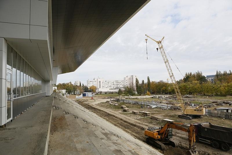 Стадион «Динамо» в Краснодаре
