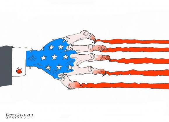 «США будут и дальше грабить остальной мир, иначе их ждет гражданская война» Новости и политика в мире