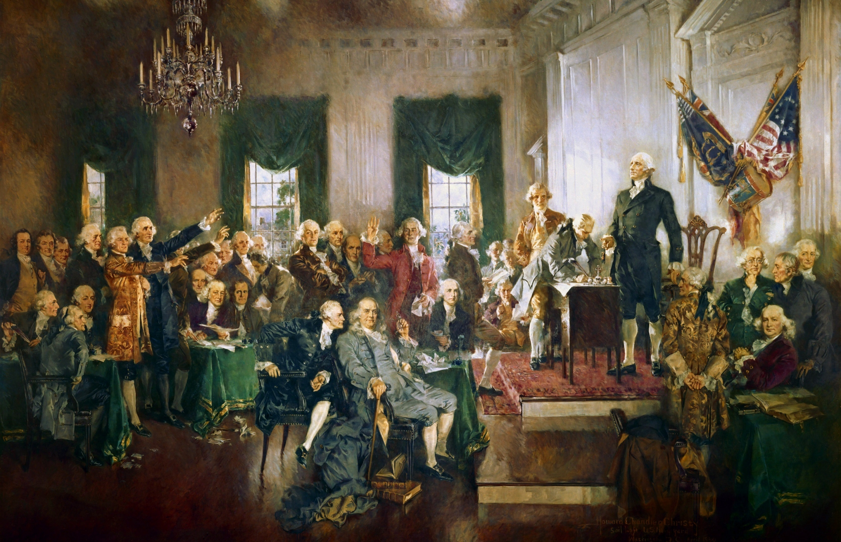 an analysis of the flaws of the constitution and the convention of philadelphia in the united states Think of the united states in that sense—thirteen coalesce to create the setting for the convention of the the articles, and a new constitution.