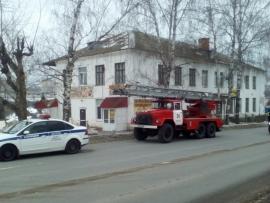 Обрушившееся здание по улице Гражданской в Чебоксарах