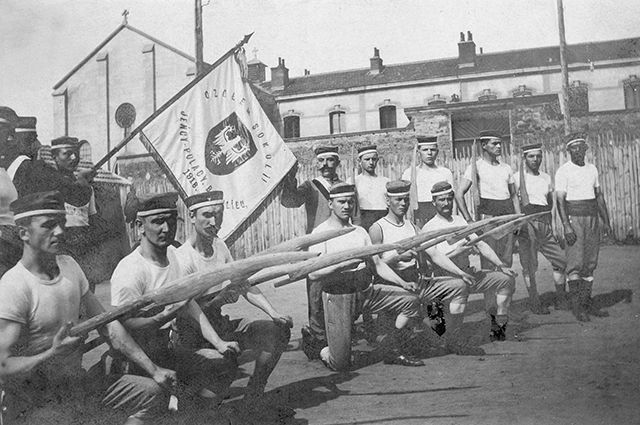 Польские солдаты. 1918