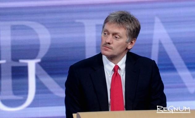 Песков: Речи о досрочных выборах президента РФ не идет