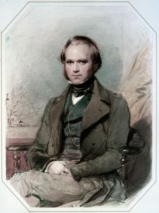 Джордж Ричмонд. Портрет Чарльза Дарвина. 1830-е