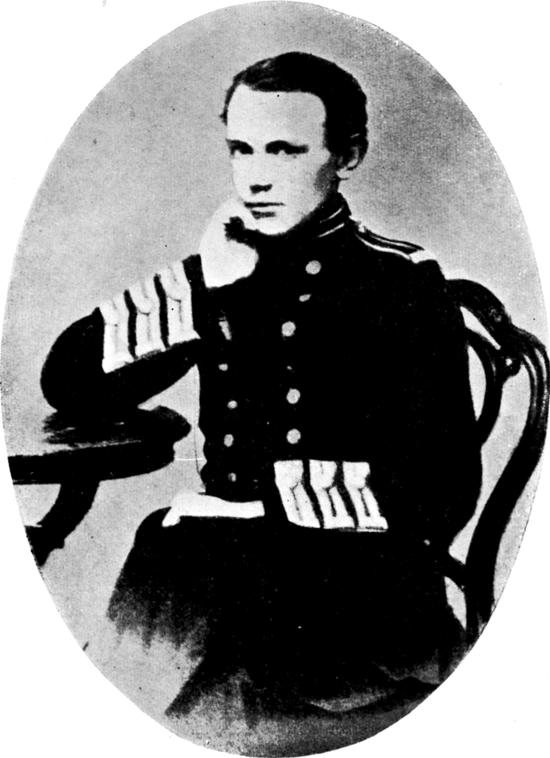 Петр Кропоткин в 1861 году