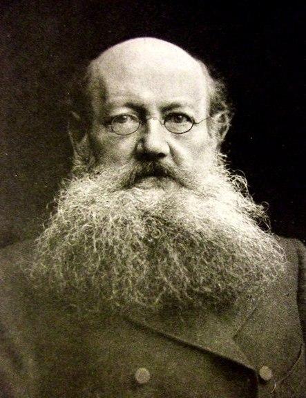 Русский философ и революционер Петр Алексеевич Кропоткин